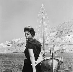 Greek beauty captured in photography :: Ellie Lambeti by Dimitris Papadimou Old Photos, Vintage Photos, The Rainmaker, Losing A Baby, Drama School, Greek Beauty, Cinema Theatre, Writers And Poets, Greek Islands