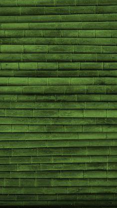 横に敷き詰めた竹 iPhone5壁紙