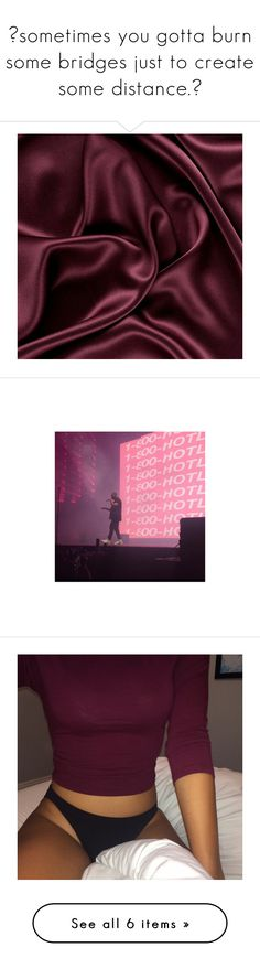 """""""❝sometimes you gotta burn some bridges just to create some distance.❞"""" by etherealspiri-t ❤ liked on Polyvore featuring pictures, backgrounds, fillers, aesthetic, pictures - red, red items, image and pics"""