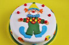 Clown Cake - Tarta Fondant Payaso Malabarista