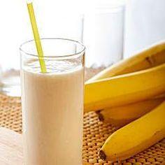 Rezept Bananen Milkshake von Connemara - Rezept der Kategorie Getränke