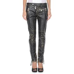 Women's Leather pants ($843) found on Polyvore