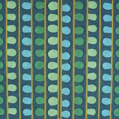 S3189 Oasis Greenhouse Fabrics, Teal Fabric, Window Treatments, Oasis, Contemporary, Pattern, Repeat, Color, Anna