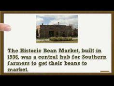 Stock Photo Historic Bean Market Lake City South Carolina- Rights Manage...