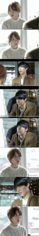 Hi School Love On Ep 20  TAE HO + JOO AH Ahhh so cute Tae ho leaving part 1 Hi School Love On, Korean Dramas, Kdrama, Films, Fandoms, Celebs, Kpop, Asian, Board