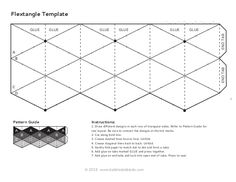 Flextangles template-babble-dabble-do