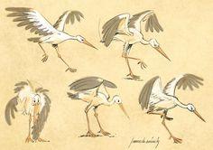 Etiquette de vin d/'Alsace Hansi Illustrateur Cigogne Alsace stork cigüeña Stork