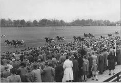 Drafbaan Stadspark Groningen 1955