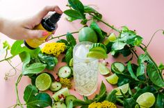 Mist the top of your cocktail with LOTUSWEI Energy Mists or add a few drops of a Flower Elixir into your favorite summertime cocktail/mocktail recipe!