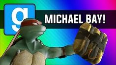 VanossGaming - Gmod: Michael Bay Movie - Ninja Turtle Chain Explosion (Garry's Mod Sandbox Funny Moments) - YouTube