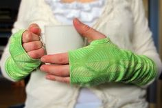 Tie Dye Diva Patterns: Free Sewing Tutorial - Perfectly Polished Armwarmers