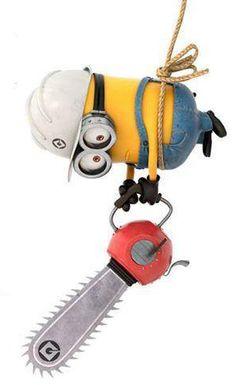 #minion #tool #chainsaw