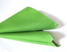 Sewing pocket squares