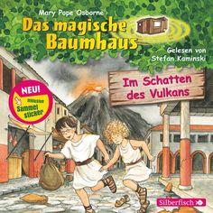 Hörbuch: Im Schatten Des Vulkans Von Mary Pope Osborne, Audiobooki w języku niemieckim <JASK>