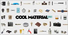 Gear and Gifts for Guys - Shop Cool Material