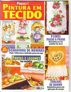 Faça já pintura em tecido n11 - ADRIANA MOURA - Picasa Web Albums... FREE BOOK!
