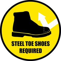 Recycle Steel Toe Shoes