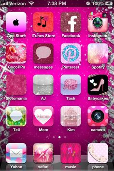 CocoPPA!! This app is so cool. You can really personalize your iPhone with amazing icons and wallpapers. I spent several hours on it this morning. So much fun!