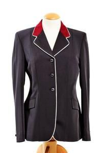 Grand Prix Techlite Hunter Coat With Piped Contrast Collar