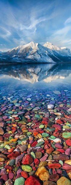 Saint Mary Lake Glacier National Park, Montana, USA