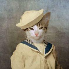Humorous Humanimal Portraits : Martine Roch