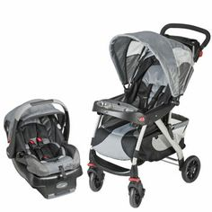 Costco: Evenflo® EuroTrek Gray Racer Travel System