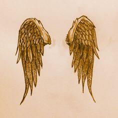 Angel Wings Tattoo sketch by - Ranz
