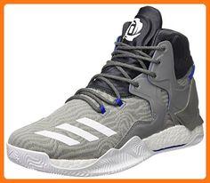 best website aa39f c6f59 Adidas D Rose 7 Herren Basketball Schuhe, Grau – (grpuchFtwblagrpudg