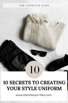 How to develop your personal style uniform minimalism/ fashion /style /uniform / capsule wardrobe / simplifying