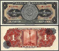 Mexico, $1 Peso bill