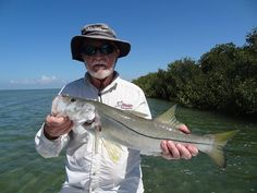 Tom with a snook on reelmello.com