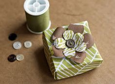 How About Orange: Fabric origami box tutorial