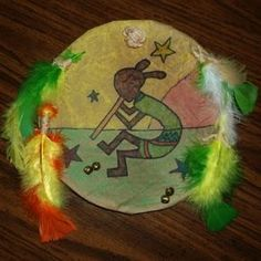 Native American War or Medicine Shield