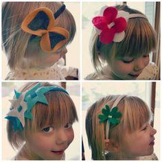 Cute easy felt headbands