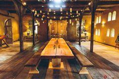 weitläufige Räume im ländlichen Stil gestaltet-Holzdielenboden aus Echtholz