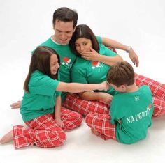 family matching pj's