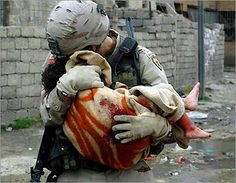 I am lucky, to not be a victim of war.
