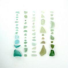 beach combing - sea glass