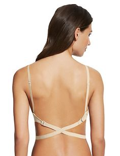 100 Ways To Wear Multiway A-DD Bra with Low Back Converter T334044 £22.50 http://www.marksandspencer.com/ultimate-multiway-a-dd-bra-with-low-back-converter/p/p22134277 Looks fab with our backless dresses www.motasem.co.uk