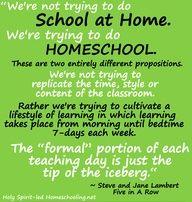 Homeschool Quote(HolySpiritLedHomeschooling.net)