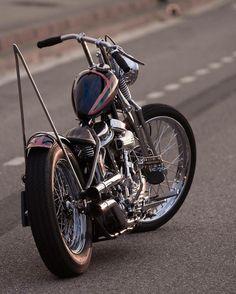 pugbobber:  Old school http://bit.ly/pugbobber         #motorcycle#bobber#custom#cafe#chopper#ride#bike#harleydavidson#caferacer#sportster#caferacer #harley #choppershit #pugbobber