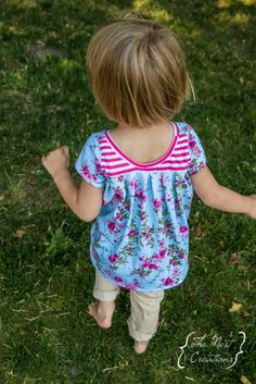 Twirling in the Park with the Mae Tunic - Straight Stitch Designs