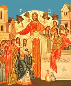 HOLY TUESDAY- traditionally on this day Eastern Rite Christians remember the parable of the ten virgins. Holy Week, Life Of Christ, Jesus Christ, Orthodox Christianity, Powerful Images, Holy Cross, The Kingdom Of God, Orthodox Icons, Icons