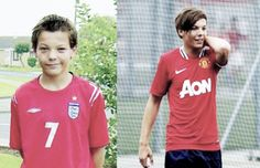 Louis Tomlinson(: then & now .. Look how sexy he is guys like seriously
