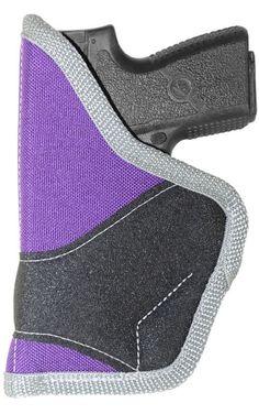 "2""-2.5"" Pocket Holster Purse Conceal Carry Waistband Purple Ladies Rebel Iris #CrossfireElite #PocketWaistbandPurse"