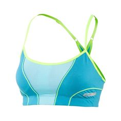Asics Abby Bra - Eye-catching, comfortable and loaded with support. ASICS has blended a breathable, lightweight Hydrology fabric with a mesh construction knit to create this fabulous support garment. $38.00 (05/13)
