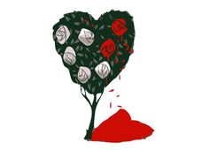 """""""Painted Roses"""" - Threadless.com - Best t-shirts in the world"""