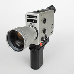 Vintage Super 8 Camera Braun Nizo by TheCuriousCaseShop on Etsy