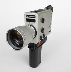 Vintage Super 8 Camera Braun Nizo by TheCuriousCaseShop on Etsy