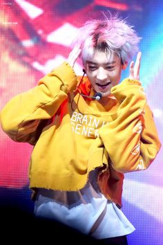 Hey, look at this, Park Chanyeol is so cute 😇 Kpop Exo, Chanyeol Baekhyun, Exo Chanyeol, Exo Chanbaek, Chanyeol Wallpaper, K Pop, Mtv, Rapper, Kim Jong Dae
